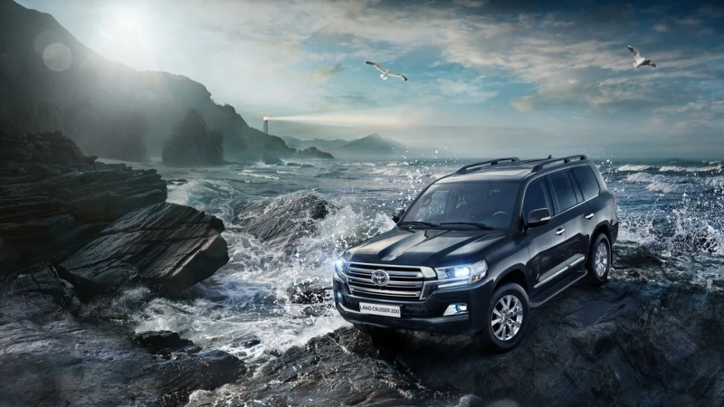 Фаркопы Baltex на Toyota Land Cruiser